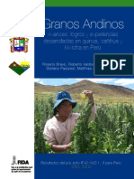 Granos Andinos. Avances logros y experiencias desarrolladas en quinua cañihua y kiwicha en Perú