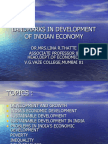 Landmarks in Development of Indian Economy