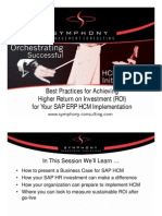 Sap Hcm With Roi Ppt