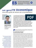 La guerre économique - Note d'analyse géopolitique n°20