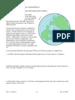 Rotational Kinematics Worksheet Packet