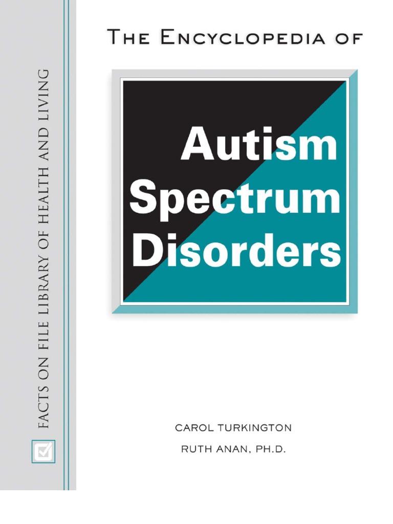 Encyclopedia of Autism Spectrum Disorders | Autism | Autism Spectrum