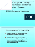 Design and Develop Services and Products