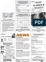 WHAC church newsletter May 15, 2011