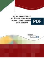 Plan Comptable Etats