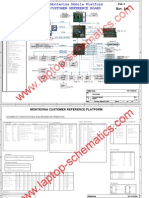 Laptop Schematic Diagram (Intel Montevina Mobile Platform)