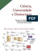 Ciência, Universidade e Democracia