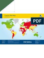 D&B Mapa de Riesgo Pais 2011 Informa