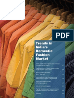 Trends in India's Domestic Fashion Market