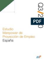 Estudio Manpower de Proyección de Empleo 3Q/10