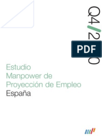 Estudio Manpower de Proyección de Empleo 4Q/10
