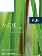 Mere Grange Brochure - May 2010 Final 1274357761
