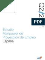 Estudio Manpower de Proyección de Empleo 2Q/11