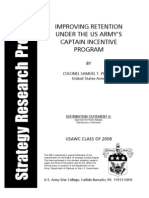 Improving Retention Under the Us Army Cpt Retention Pay