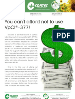 You can't afford not to use VpCI ® –377!