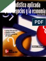 a Aplicada a Los Negocios Y La Economia