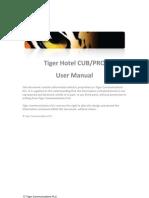 Tiger Hotel CUB_PRO Manual