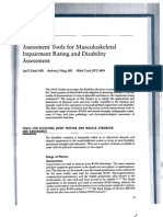 Musculoskeletal Impairment Rating