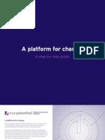 A Platform for Change Quick Start Guide