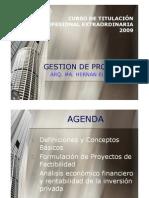 Gestion de Proyectos Sesion 1