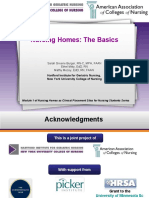 Module1 Nursing Homes the Basics