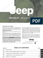 16358515 Jeep JK 2009 Wrangler Owners Manual