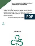 Dublin City Schools Budget Presentation - May 11th, 2011