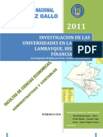 Universidades Lambayeque