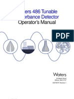 Waters 486 Detector Manual