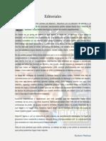 Editoriales Revista Mojón 21 / Año 1 N. 1