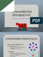 Presentación Pensamiento Divergente
