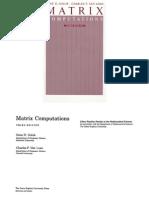 Golub G.H., Van Loan C.F. Matrix Computations (Pages 1 to 308)(3ed., JHU, s