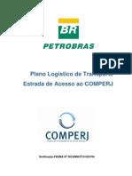 Plano Logistico Estrada de Acesso Ao COMPERJ