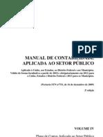 Volume IV Pcasp Republicacao Contab. Govr.