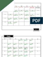 2011 Soph Calendar