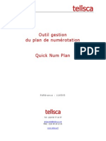 Quick Num Plan - Outil gestion du plan de numérotation