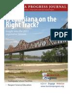 Louisiana Progress Journal Spring 2011