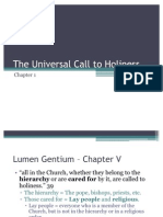 Ch1The Universal Call to Holiness