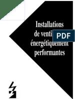 Installations Ventilltuion Energetique