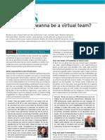 so you wanna be a virtual team
