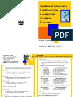Jornada Bienvenida MIR 2011