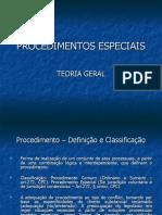 Procedimentos Especiais - Teoria Geral