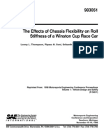 The Effects of Chassis Flexibility on Roll
