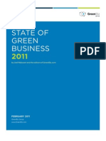 State Green Business Report 2011