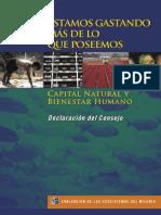 Evaluación Ecosistemas del Milenio,  declaración de consejo