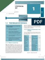 Physics Ch 1