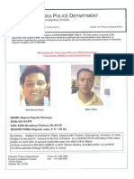Bayron Fajardo Montoya Wanted Poster