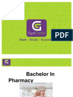 Introduction to Bachelors in Pharmacy