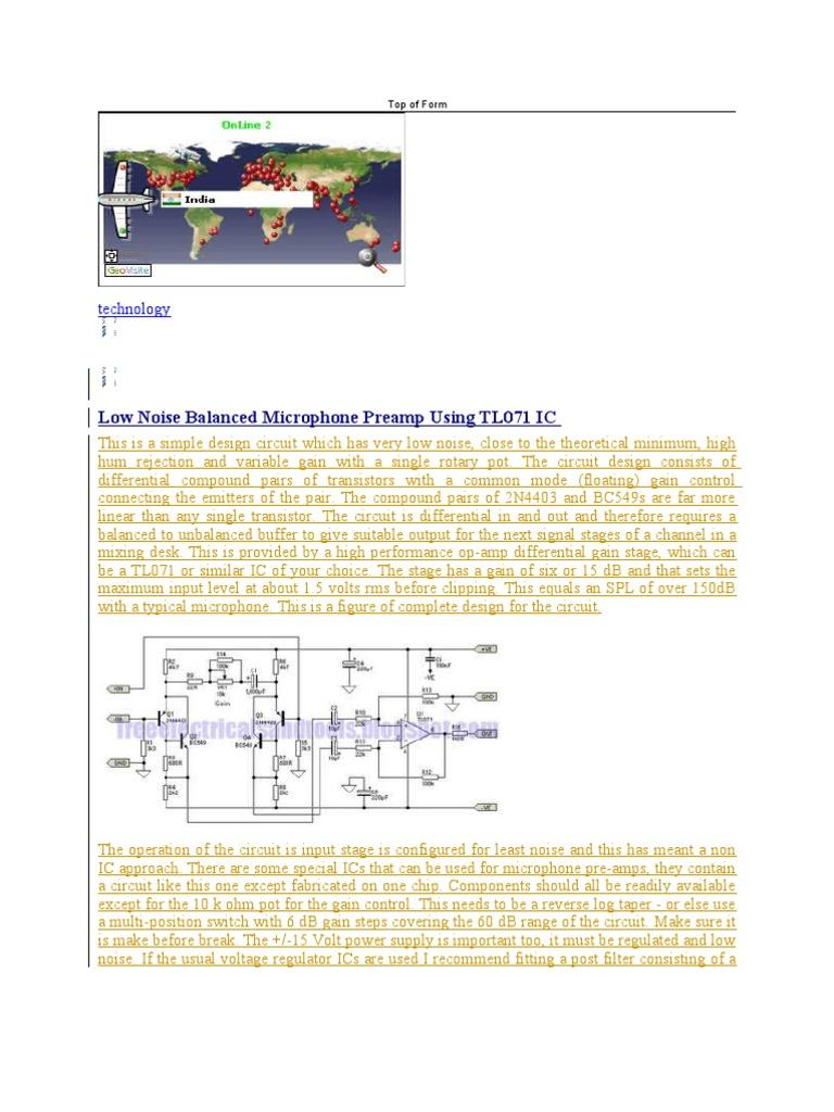 Ic Operational Amplifier Analog To Digital Converter 9 V Regulator Using 7809
