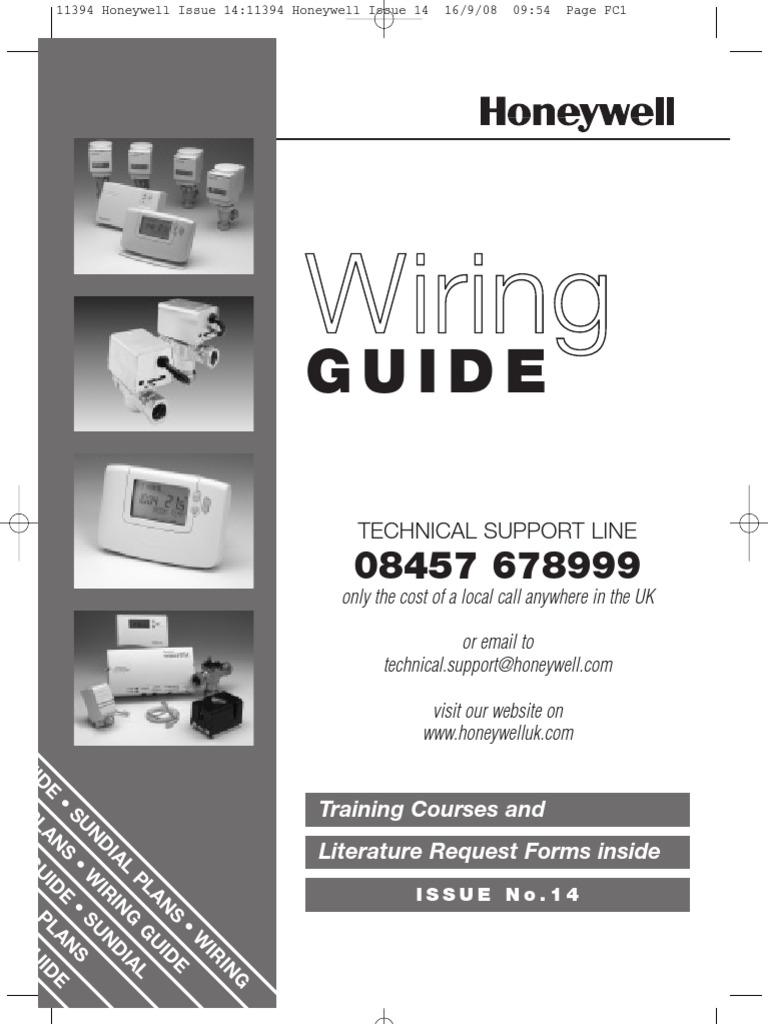 Honeywell Uk Wiring Guide Issue 14